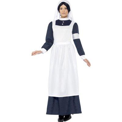 1:a Världskriget Sköterska Dräkt - Svart & Vit