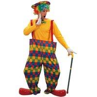 Clown maskeraddräkt - Onesize