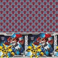 Transformers Prime bordsduk i plast - 120 x 180 cm