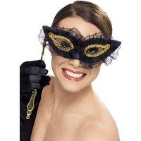 Elegant ögonmask svart