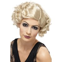 1920-tals Flirty Flapper peruk blond