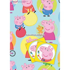 Gurli gris presentpapper & etiketter