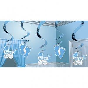 Hängande virvlar dekoration - 5 st