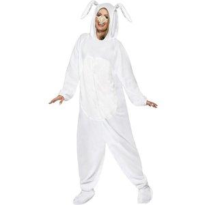 Vit kanin maskeraddräkt