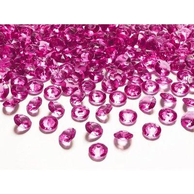 Diamantkonfetti - Flera olika färger 12 mm 100 st