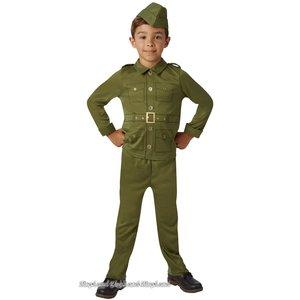 WW2 Soldat maskeraddräkt - Barn