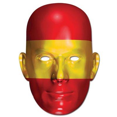 Ansiktsmask spanska flaggan