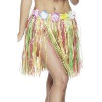 Hulakjol med blomma multifärgad kort