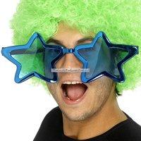 Stjärnformade JUMBO glasögon - blandade färger