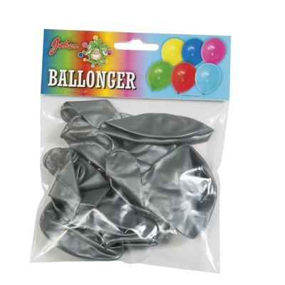 Silvermetallic ballonger - 8pack