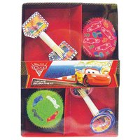 Disney bilar Cupcake dekorations sats
