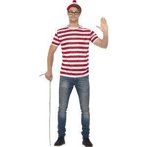 Where's Wally maskeraddräkt