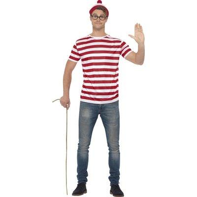 Where\\\'s Wally maskeraddräkt