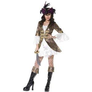 Piratskönhet maskeraddräkt