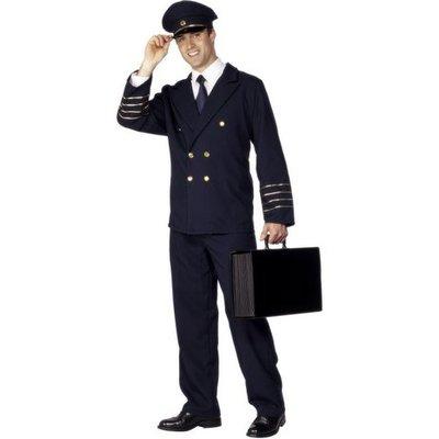 Pilot - maskeraddräkt klassisk