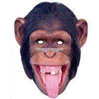 Djurmask schimpans