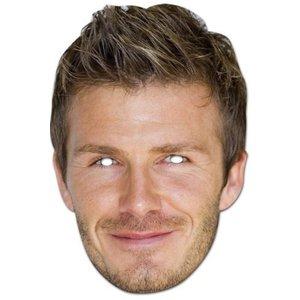 David Beckham ansiktsmask