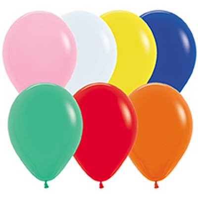 Latexballonger - Blandade färger