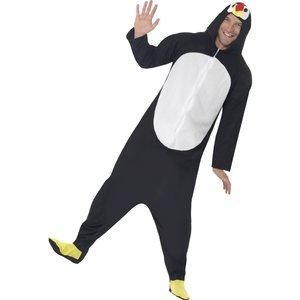Pingvin jumpsuit - maskeraddräkt