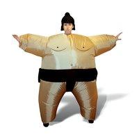 Uppblåsbar sumokostym
