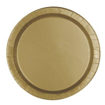Guldiga tallrikar - 23 cm