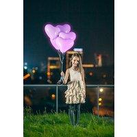 LED-Ballonger Hjärtan Färgskiftande