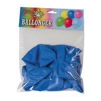 Blå ballonger 10-pack