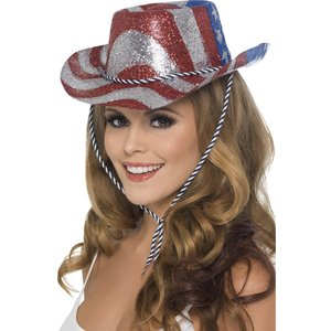 Cowboy Glitter hatt