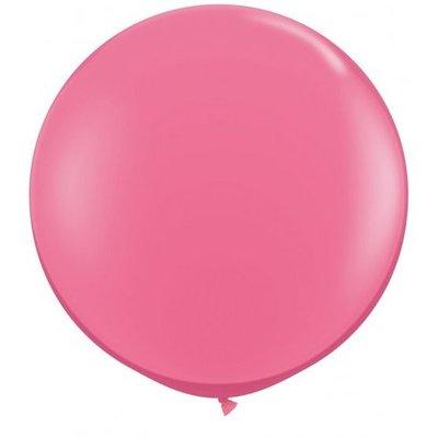 Jätteballong - Rosa 80 cm