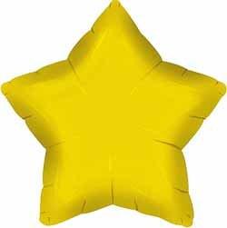 Folieballong - Stjärna Guld 48 cm