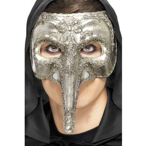 Lyxig venetiansk capitano mask