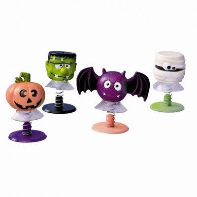 Spöklika pop-up figurer till halloween - 6 st