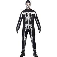 Skelett - maskeraddräkt