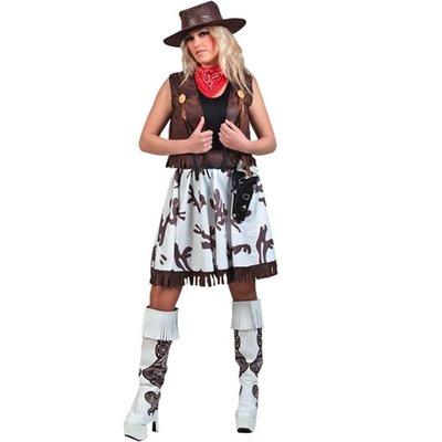 Cowgirl maskeraddräkt