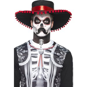 Day of the Dead Herr Ben Sminkset