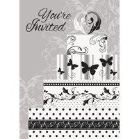 Inbjudningar - Victorian wedding 8 st