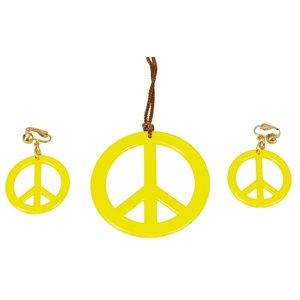 Hippie smycken - Gult