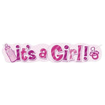 Banderoll - It\\\'s a girl