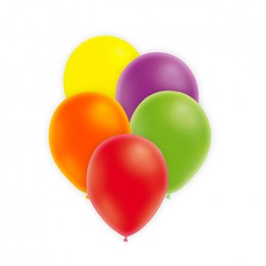 Latexballonger - Neon Assortment