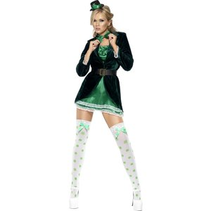 Het St Patrick's Day maskeraddräkt, grön