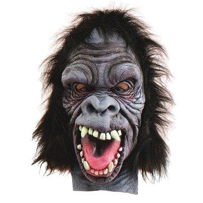 Gorillamask i gummi