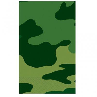 Camouflage partybordsduk