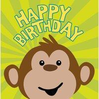 Monkeying around pappersservetter till födelsedagen 3-lagers - 16 st