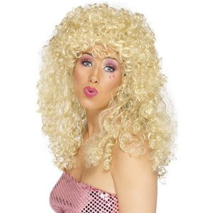 Peruk boogie babe blond