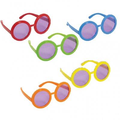60-tals hippie glasögon - 10 st