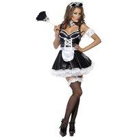Flirtig French Maid maskeraddräkt