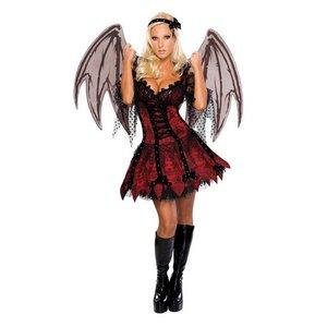 Vampyr-fe maskeraddräkt