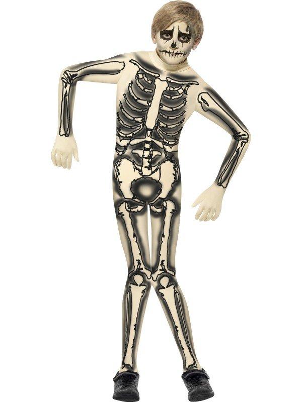 Skelett Second Skin maskeraddräkt - 299 kr - Zingland.se 04bb103007ed4