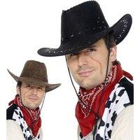 Cowboyhatt - mocka look