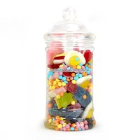 Viktoriansk godisburk - plast - 500ml